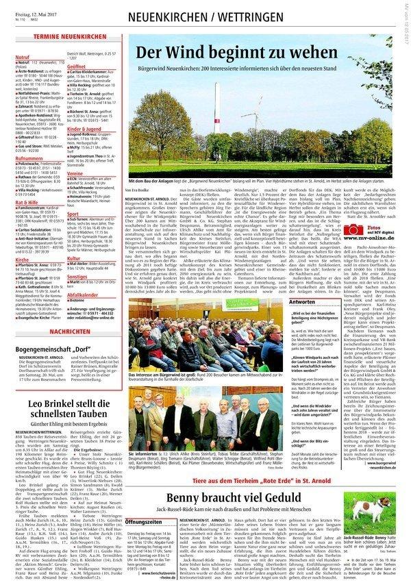 170512_Zeitungsartikel in den Westfälischen Nachrichten_von Eva Boolke